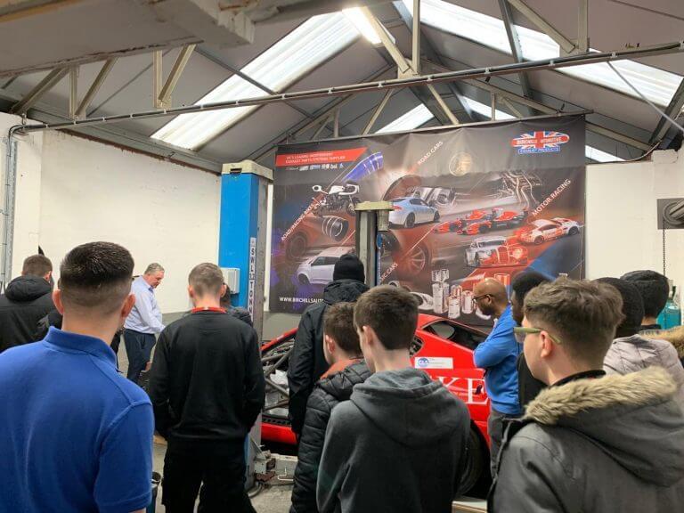 Birchills Automotive encouraging engineering students - Birchills Automotive